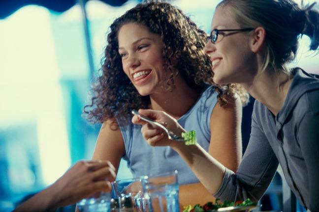 women eating 1