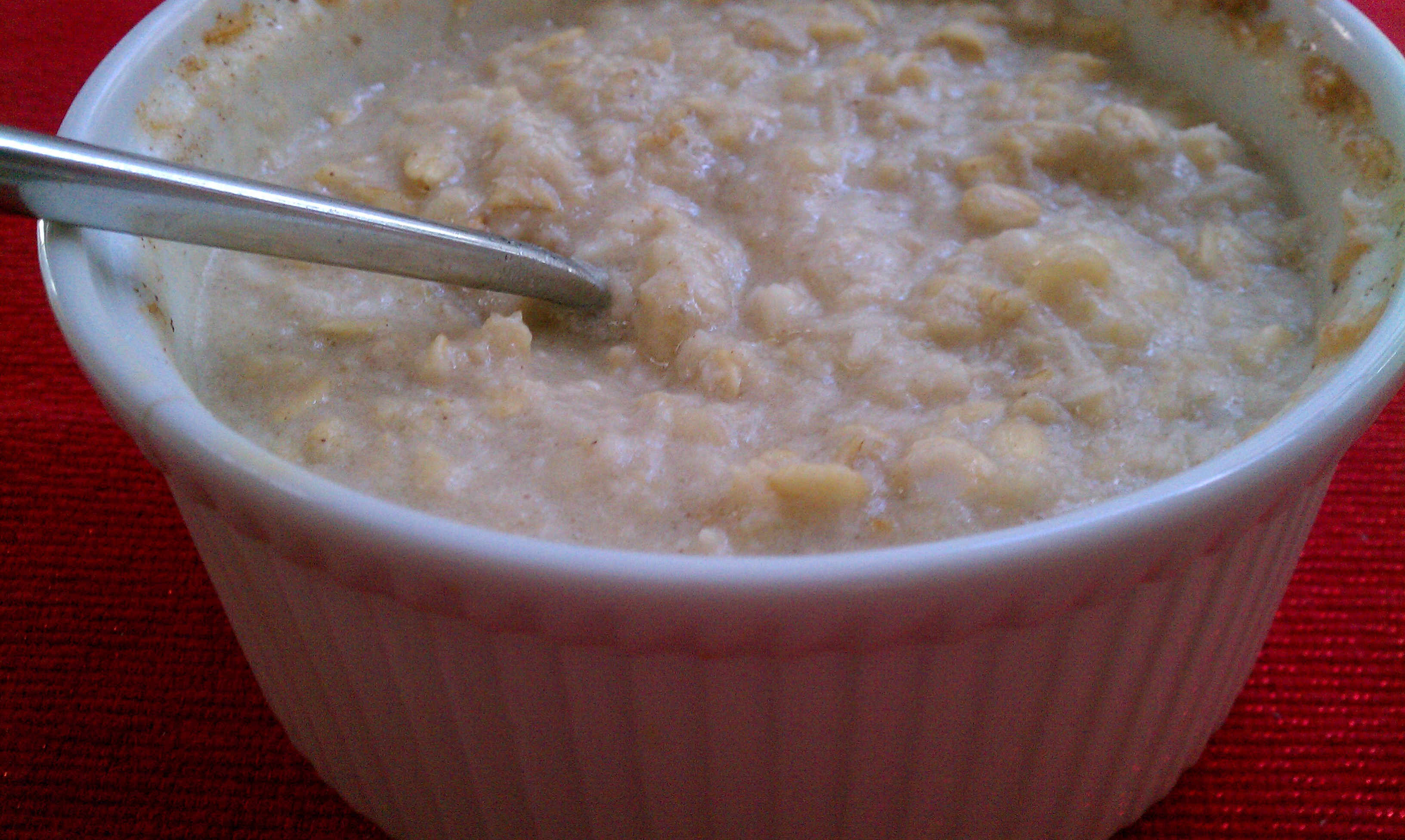 Clean Eating Coconut Oatmeal