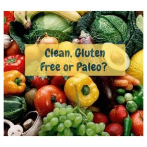 clean gluten free or paleo
