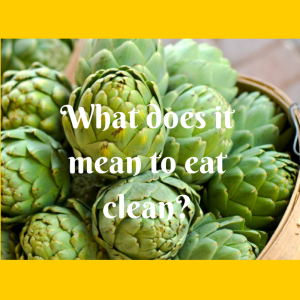 meaning of clean eating