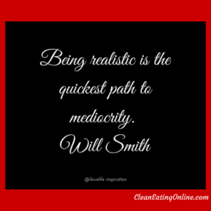 will smith mediocrity quote
