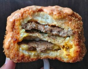 deep fried big mac