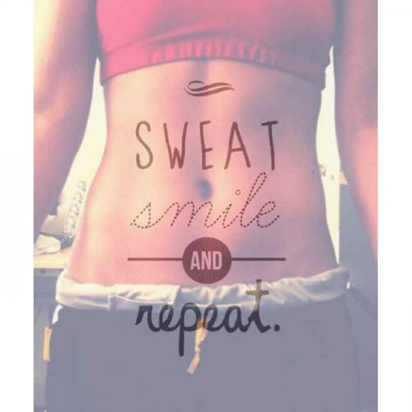 sweat,smile and repeat