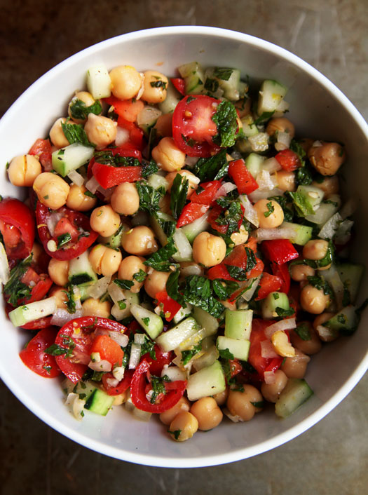 thai chickpea salad