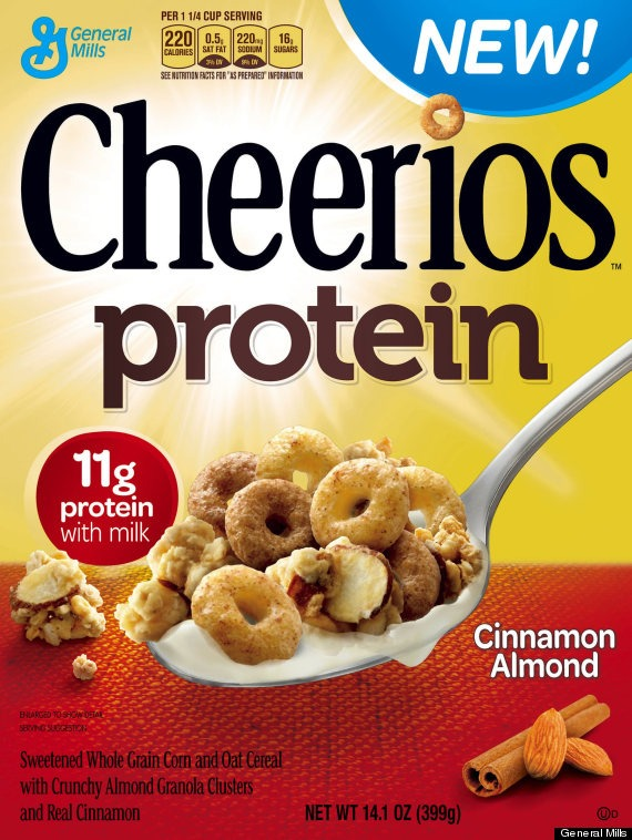 nasty food of the week: cheerios protein